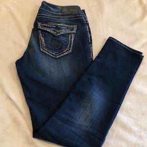 EUC Silver Jeans Suki Mid Skinny 29/31